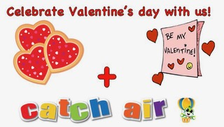 valentine's at catch air