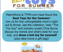 Event:  MetroMoms Austin Best Toys of the Summer