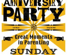 Great Moments in Parenting Anniversary Party