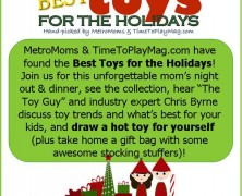MetroMoms Austin Event: Best Toys For the Holidays