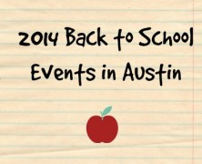Austin Back to School Events 2014