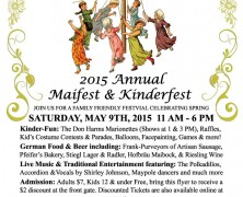 Event: Maifest 2015, May 9, 2015