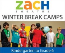 Giveaway: Winter Break Camps at ZACH Theatre