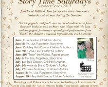 Kids' Summer Storytime with Local Authors