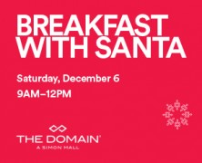 Event: Breakfast with Santa at The Domain
