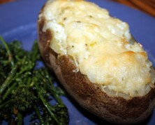 Thursday's Dish: Potatoes Stuffed with Caramelized Onions and Dubliner Cheese… and a Giveaway!