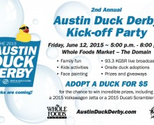 Event: 2nd Annual Ducky Derby Kick-off Party, June 12, 2015