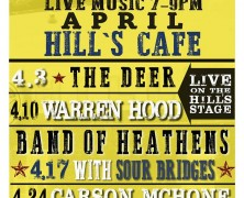 Free Music Fridays at Hill's Cafe