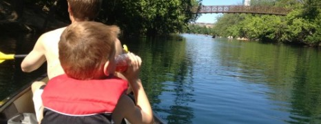 Canoeing and Kayaking in Central Texas with your Kids