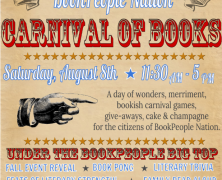Event: Carnival of Books at BookPeople, 8/8