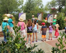 Spring Break in Dallas at The Rory Meyers Children's Adventure Garden