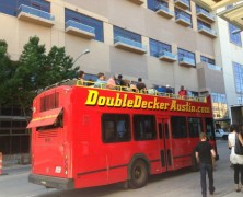 Double Decker Tour Takes Austin Sightseeing to New Heights
