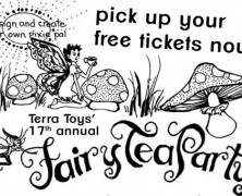 Event: Fairy Tea Party at Terra Toys, June 3 & 4, 2015