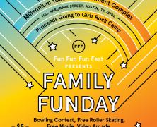 Event: Fun Fun Fun Fest Family Funday, 9/5