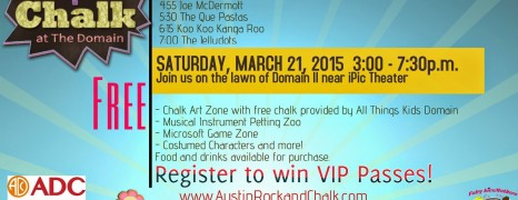 Rock + Chalk: Spring Break Live Music Event for Families