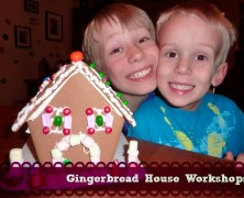 2013 Gingerbread House Workshops in Austin