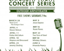 Hill Country Galleria's 2015 Saturday Night Concert Series