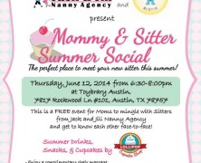 Event: Mommy and Sitter Summer Social