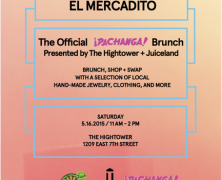 Event: El Mercadito, The Official Pachanga Festival Brunch, May 16, 2015
