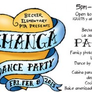 Becker Elementary 2nd Annual Pachanga Dance Party