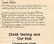 A Letter From a Mom About STAAR Testing