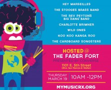 SXSW Spotlight and GIVEAWAY: MyMusicRx® YOU WHO Rock Show for Kids at The FADER FORT