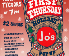First Thursday at Jo's Coffee