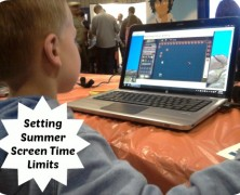 Setting Summer Screen Time Limits