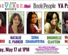 Event: We Need Diverse Books YA Author Panel, May 17, 2015