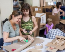 Adult & Child Workshops At The Contemporary Austin Art School