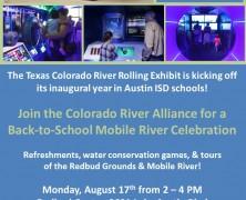 Event: Back to School Mobile River Celebration, 8/17
