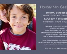 Deal: Holiday Mini Sessions