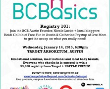 Event: Bump Club Basics at Target