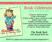 Event: Sadie Book Launch and Signing Event