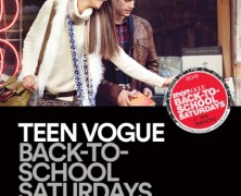 Event: Back-To-School Saturdays With Teen Vogue, 8/8