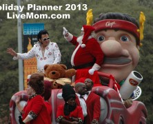 Save the Dates: Holiday Planner 2013