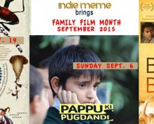 Event: Indie Meme September Family Film Month {And A Giveaway}