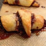 Thursday's Dish: Raspberry-Almond Rugelach