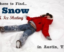 Ice Skating Rinks and Snow Days in Austin