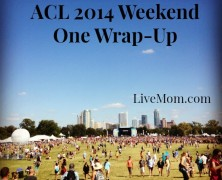 ACL 2014 Weekend One Wrap-up